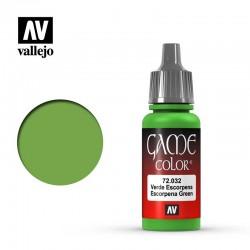 VAL72032 Vert scorpion