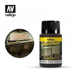VAL73802 Éclaboussures de boue russe