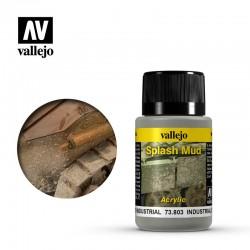 VAL73803 Éclaboussures de boue industrielle