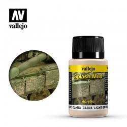 VAL73804 Éclaboussures de boue brun clair
