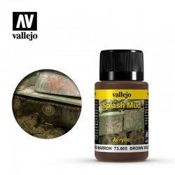 VAL73805 Éclaboussures de boue brune