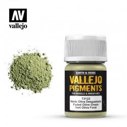 VAL73122 Vert olive usé