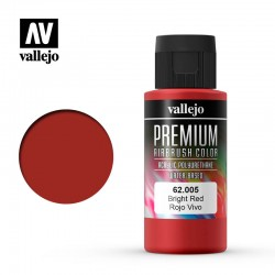 VAL62005 Rouge chaud