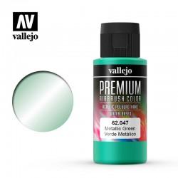 VAL62047 Vert métallique