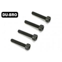 DUB2280 Screws - 4.0mm x 25 Socket-Head Cap Screws (4 pcs per package)
