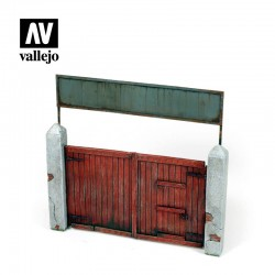 VALSC006 Porte en bois