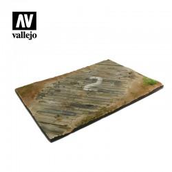 VALSC102 Base aérienne en bois