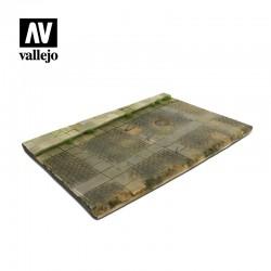 VALSC103 Base en pierre avec égout