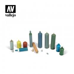 VALSC209 Bouteilles à gaz modernes