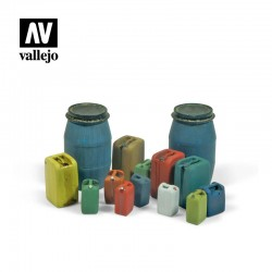 VALSC211 Assortiment de tambours en plastique modernes