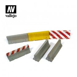 VALSC214 Barrières de ciment