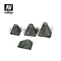 "VALSC218 Höckerhindernis ""Dents de Dragon"" Type 38"