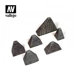 "VALSC219 Höckerhindernis ""Dents de Dragon"""