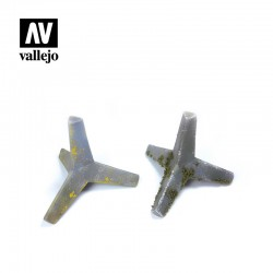 VALSC220 Obstacle anti-char de tétrapodes