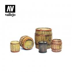 VALSC225 Fûts de bois