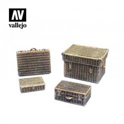 VALSC227 Valises en osier