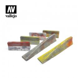 VALSC228 Barrières de ciment urbaines