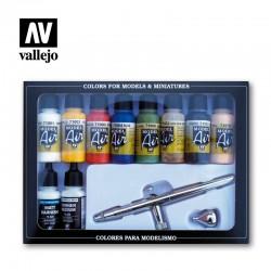 VAL71167 Couleurs de base et aérographe (10)