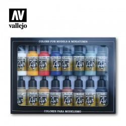 VAL71178 Pack de couleurs de base (16)