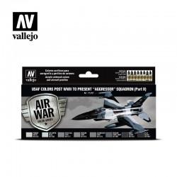 VAL71617 Les couleurs de l'US Air Force après la Seconde Guerre mondiale présentent l'escadron «Aggressor», partie II (8)