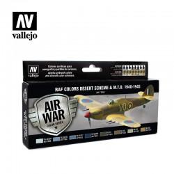 VAL71163 Schéma du désert des couleurs de la RAF et du MTO, 1940-1945 (8)