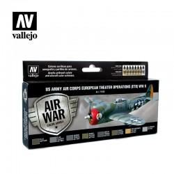 VAL71182 Armée de l'air américaine Opérations de théâtre européen (ETO) Seconde Guerre mondiale (8)