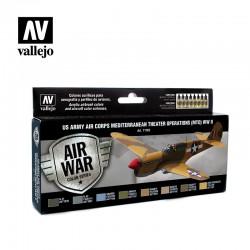 VAL71183 Armée de l'air américaine théâtre méditerranéen Operat (MTO) Seconde Guerre mondiale (8)