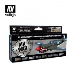 VAL71184 US Army Air Corps Chine-Birmanie-Inde (CBI) Pacific Theather Seconde Guerre mondiale (8)
