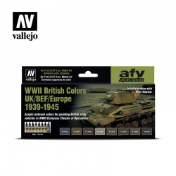 VAL71614 WWII British Colours UK / BEF / Europe 1939-1945 (8)