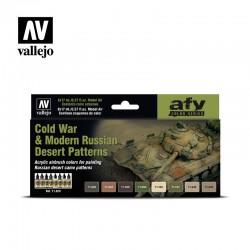 VAL71620 Guerre froide et modèles de désert russes modernes (8)