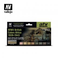 VAL71622 La seconde guerre mondiale British Colours Africa 1939-1943 (8)