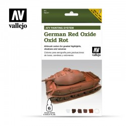 VAL78411 Oxyde rouge allemand (6)