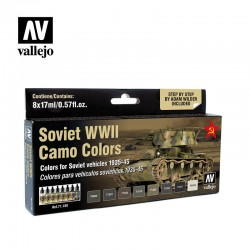 VAL71188 Soviet WWII Camo Colours (8) de Adam Wilder