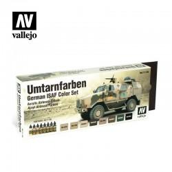 VAL71159 Couleurs ISAF allemandes (Umtarnfarben)