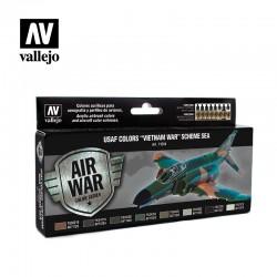 VAL71204 USAF couleurs «guerre du Vietnam» Schéma SEA (Asie du Sud-Est) (8)