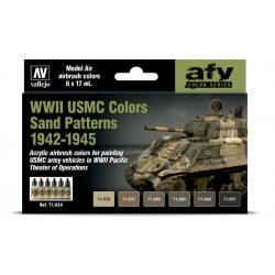 VAL71624 USMC Colors Sand Patterns 42-45