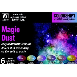 VAL77090 Colorshift Set - Magic Dust 6x17ml
