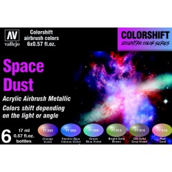 VAL77091 Colorshift Set - Space Dust 6x17ml