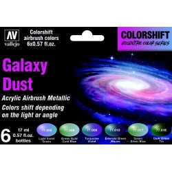 VAL77092 Colorshift Set - Galaxy Dust 6x17ml