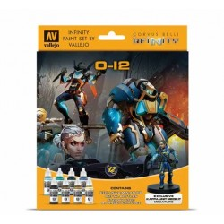 VAL70239 Infinity O-12 Exclusive Miniature Paint Set