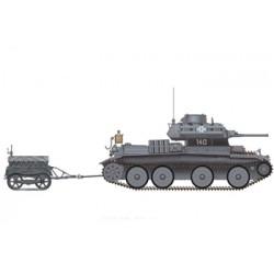BR35030SP A13 PZKFW MK IV 744(e)&trailer 1/35