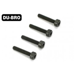 DUB2281 Screws - 4.0mm x 35 Socket-Head Cap Screws (4 pcs per package)