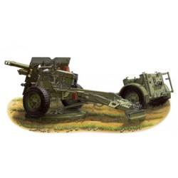 BR35046 BRONCO QF 25Pdr Field Gun MK1 1/35