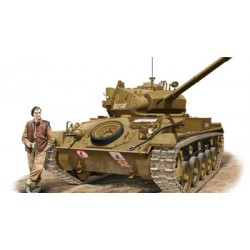 BR35068 Light Tank M24 Chaffee British 1/35