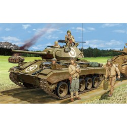 BR35069 BRONCO US Tank M-24 Chaffee+fig1/35