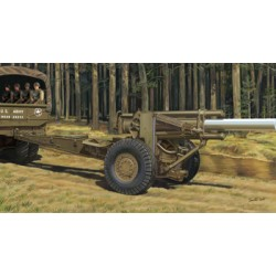 BR35073 BRONCO US 155 MM Howitzer M1A1 1/35