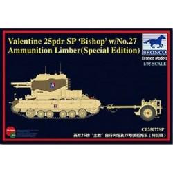 BR35077SP BRONCO Valent.25+27 Am.Limber 1/35