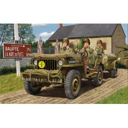 BR35106 4x4 Util.Track 1942 Trail+ Crew1/35
