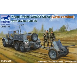 BR35138 Krupp Protze L 2 H 143 Kfz.69 1/35