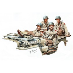 BR35159 WWII US Truck Crew Set 1/35